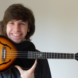 Matthew Quilliam and his Ukulele
