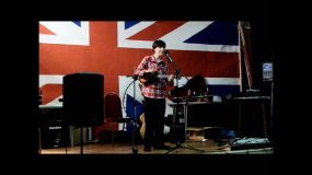 Me at the Essex George Formby Society